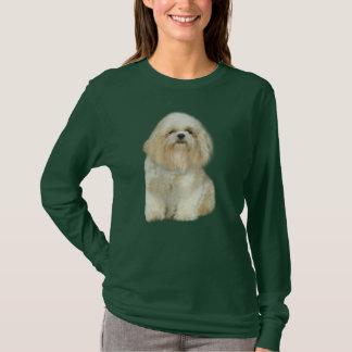 シーズー(犬)のTzuの女性Tシャツ Tシャツ