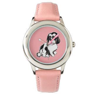 シーズー(犬)のTzuの子犬の腕時計 腕時計