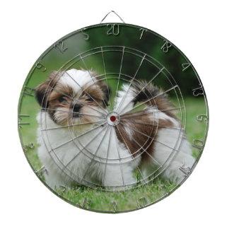 シーズー(犬)のtzuの子犬 ダーツボード