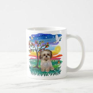 シーズー(犬)のTzuの子犬#2 コーヒーマグカップ