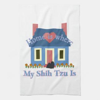 シーズー(犬)のTzuの家はあります キッチンタオル