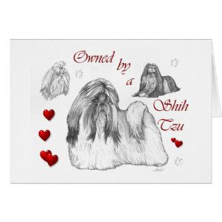 シーズー(犬)のTzuの恋人のギフト カード
