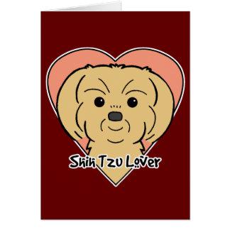 シーズー(犬)のTzuの恋人 カード