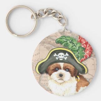シーズー(犬)のTzuの海賊 キーホルダー