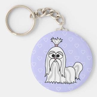 シーズー(犬)のTzuの漫画 キーホルダー
