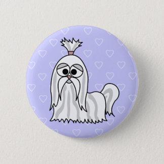 シーズー(犬)のTzuの漫画 缶バッジ