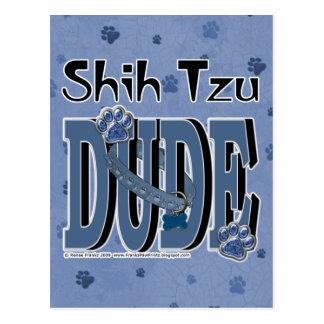 シーズー(犬)のTzuの男 ポストカード