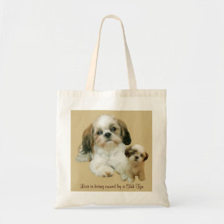 シーズー(犬)のTzuの相棒のトートバック トートバッグ