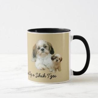 シーズー(犬)のTzuの相棒のマグ マグカップ