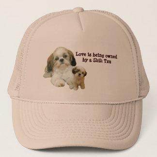シーズー(犬)のTzuの相棒の帽子 キャップ