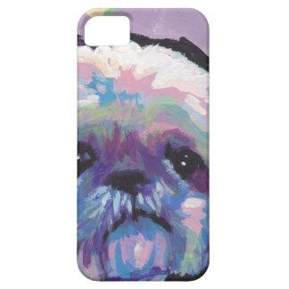 シーズー(犬)のtzuの破裂音犬の芸術 iPhone SE/5/5s ケース