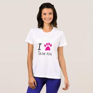 シーズー(犬)のTzuの私の足を愛して下さい Tシャツ