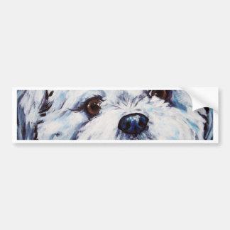 シーズー(犬)のTzuの組合せ バンパーステッカー