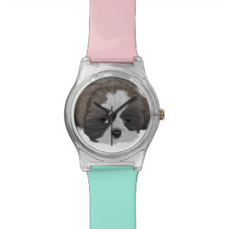 シーズー(犬)のTzuの腕時計 リストウォッチ