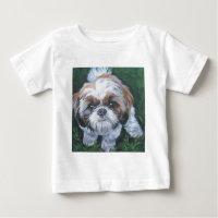 シーズー(犬)のtzuの芸術犬の絵画