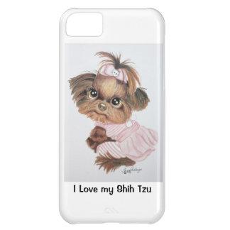 シーズー(犬)のTzuのiPhone 5の場合 iPhone5Cケース