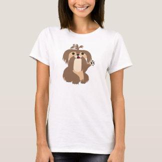 シーズー(犬)のTzuのTシャツ Tシャツ