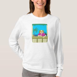 シーズー(犬)のTzuタケTikiの小屋 Tシャツ