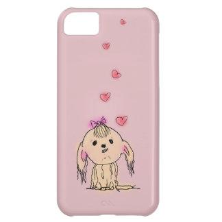 シーズー(犬)のTzu犬のかわいい絵 iPhone5Cケース