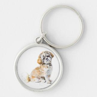 シーズー(犬)のTzu犬のキーホルダーかキーホルダー キーホルダー