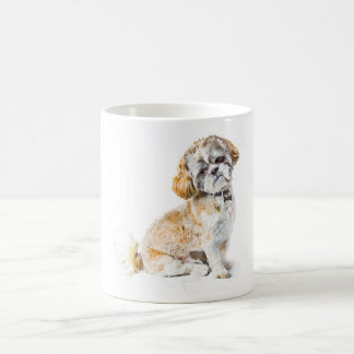 シーズー(犬)のTzu犬のマグ コーヒーマグカップ