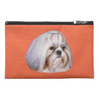 シーズー(犬)のTzu犬のBagettesの付属品袋 トラベルアクセサリーバッグ