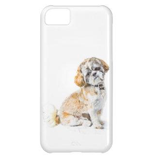 シーズー(犬)のTzu犬のiPhone 5 IDの場合 iPhone5Cケース
