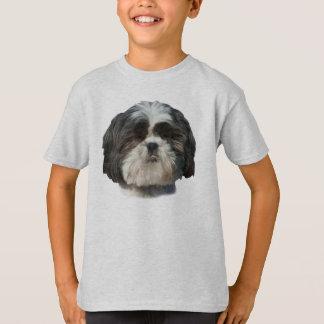 シーズー(犬)のTzu犬のTシャツ Tシャツ