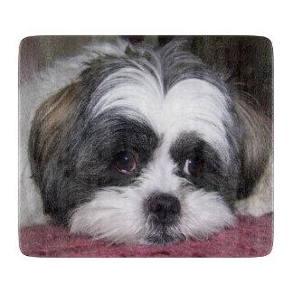 シーズー(犬)のTzu犬 カッティングボード