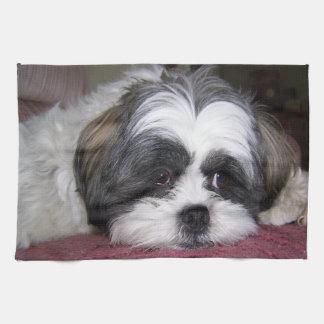 シーズー(犬)のTzu犬 キッチンタオル
