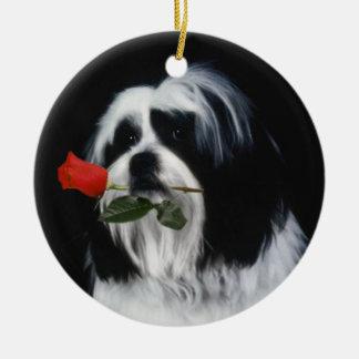 シーズー(犬)のTzu犬 セラミックオーナメント