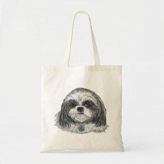 シーズー(犬)のTzu犬 トートバッグ