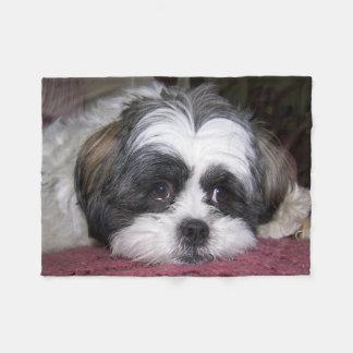 シーズー(犬)のTzu犬 フリースブランケット