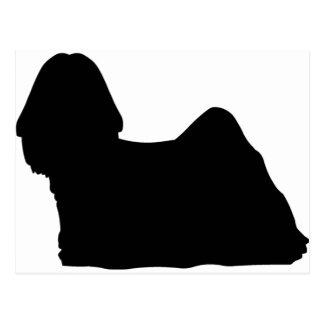 シーズー(犬)のTzu犬 ポストカード