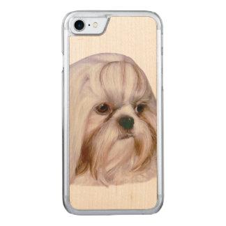 シーズー(犬)のTzu犬 Carved iPhone 8/7 ケース