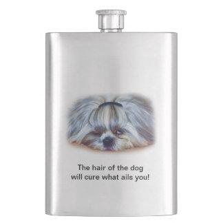 シーズー(犬)のTzu犬A Hungover少し フラスク