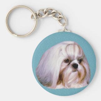 シーズー(犬)のTzu犬Keychain キーホルダー