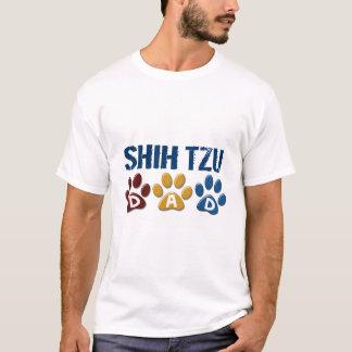 シーズー(犬) TZUのパパの足のプリント1 Tシャツ
