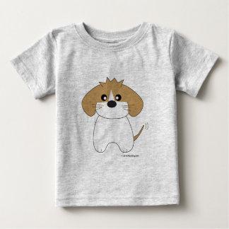 シーズー(犬)Tzuのワイシャツ ベビーTシャツ