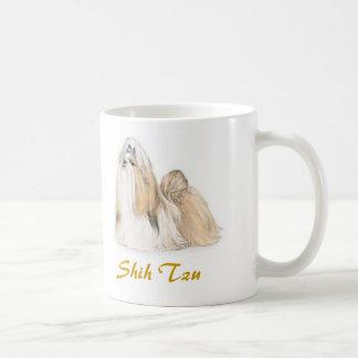 シーズー(犬) Tzuの沢山の犬の恋人! コーヒーマグカップ