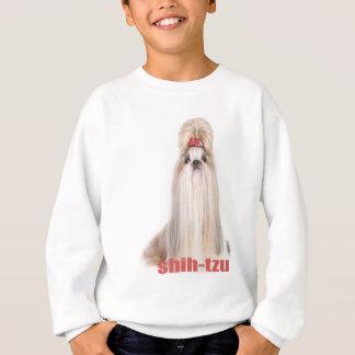 シーズー(犬)tzu犬はシーズー-シーズー犬の品種--を繁殖させます スウェットシャツ