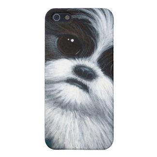 シーズー(犬) TZU犬4G IPHONEの例 iPhone 5 ケース