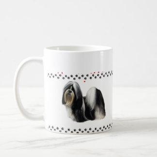 シーズー(犬) Tzu コーヒーマグカップ