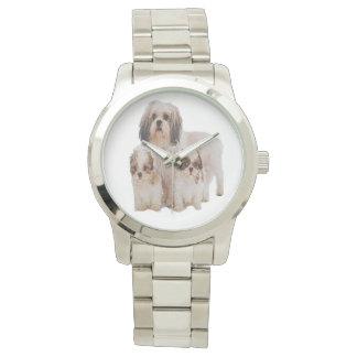 シーズー(犬) tzu tワイシャツ 腕時計