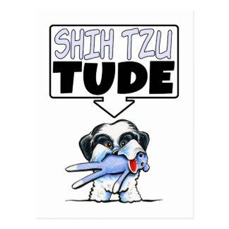 シーズー(犬) Tzu Tude ポストカード