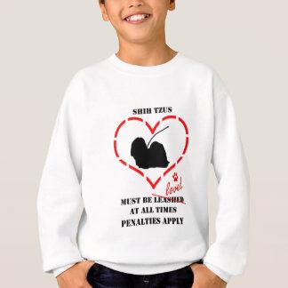 シーズー(犬) Tzusは愛されなければなりません スウェットシャツ