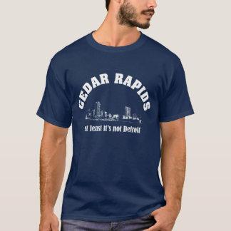 シーダーラピッズ、アイオワのティー Tシャツ