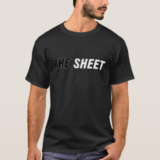シートのワイシャツ-暗闇 Tシャツ