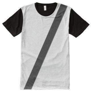 シートベルトのギャグ オールオーバープリントT シャツ