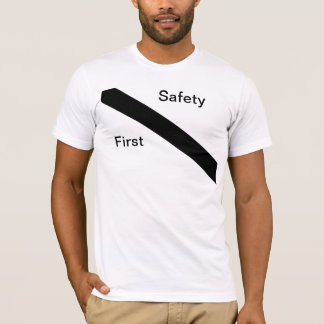 シートベルトのワイシャツ Tシャツ
